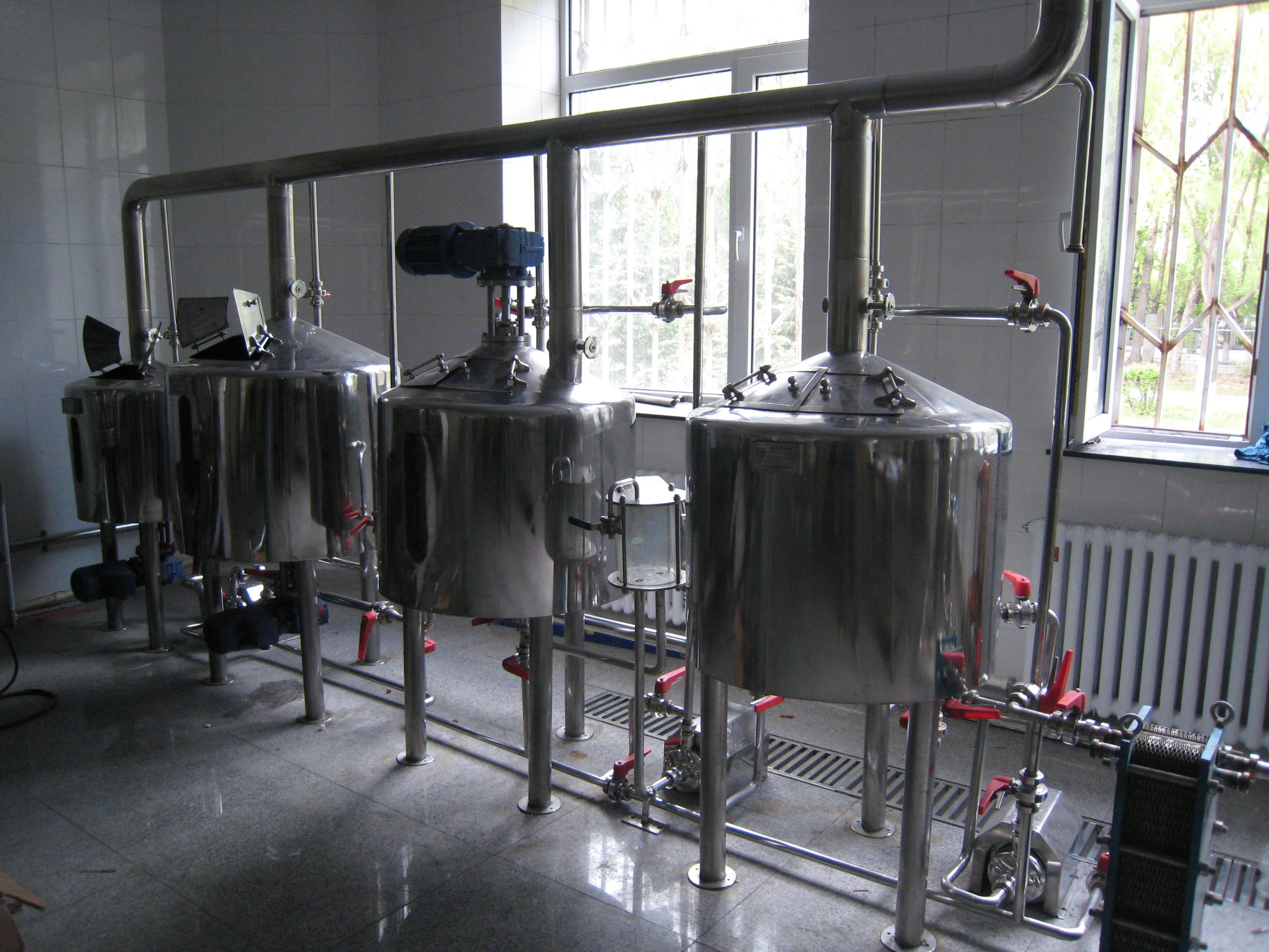 Оборудование для мини-пивоваренного завода