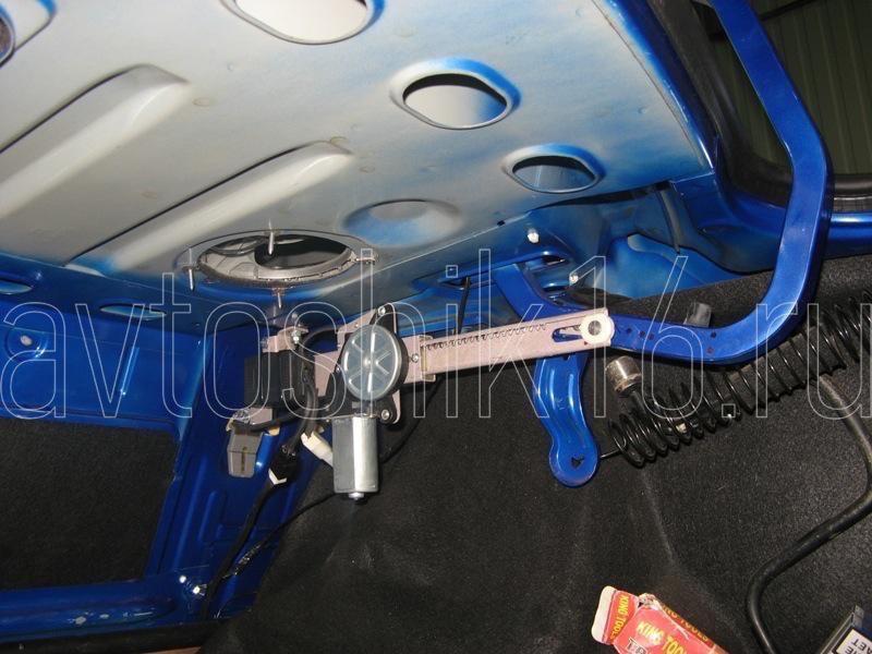 Система открывания багажника своими руками 76
