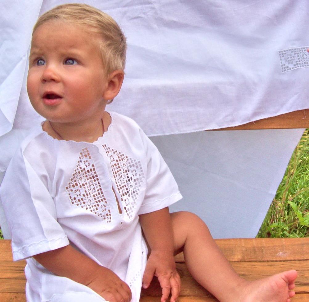 Крестильный набор для мальчика своими руками