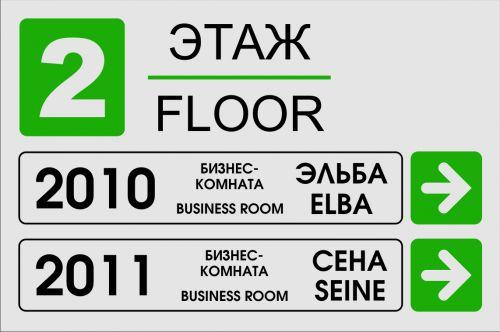 Указатели этажа