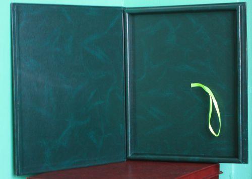 Футляр зелён