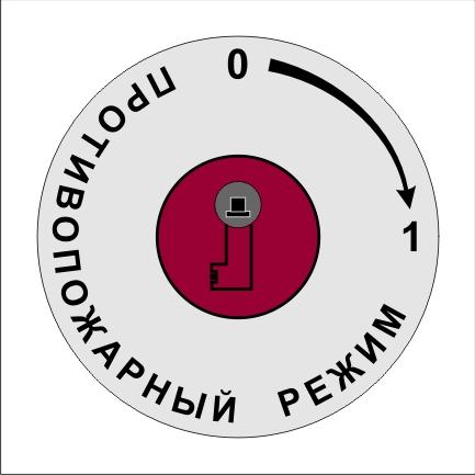 Шилд-кольцо на личинку замка лифт