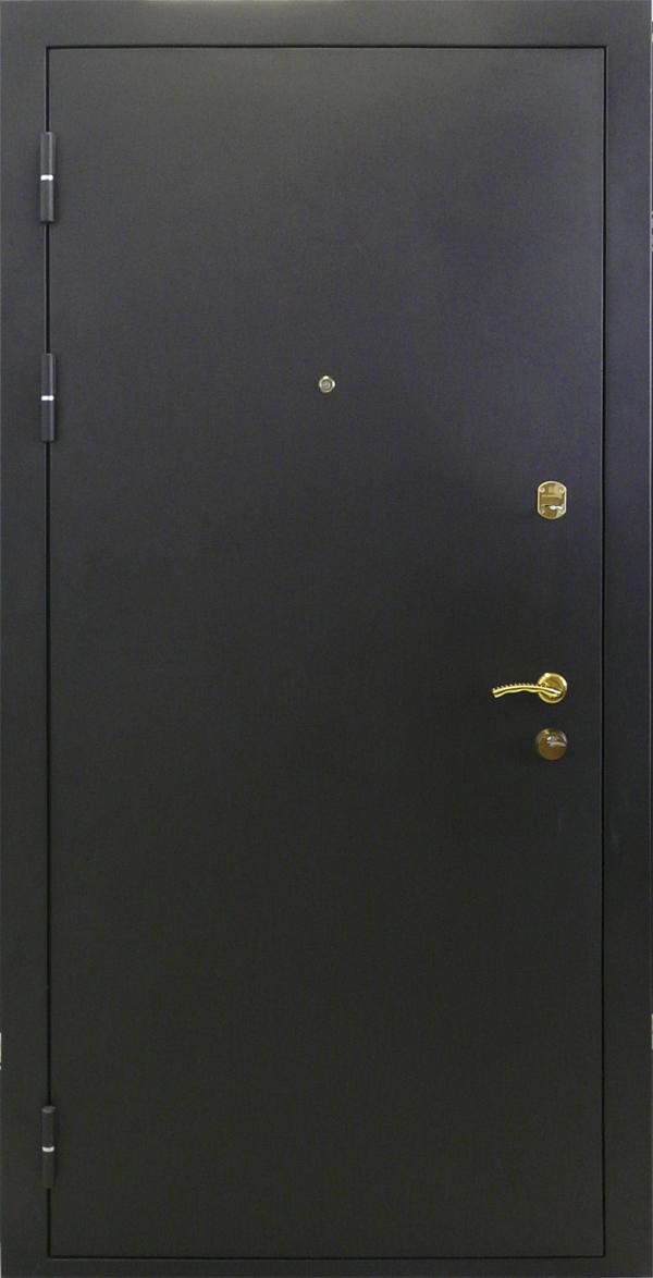 входная дверь черный бархат