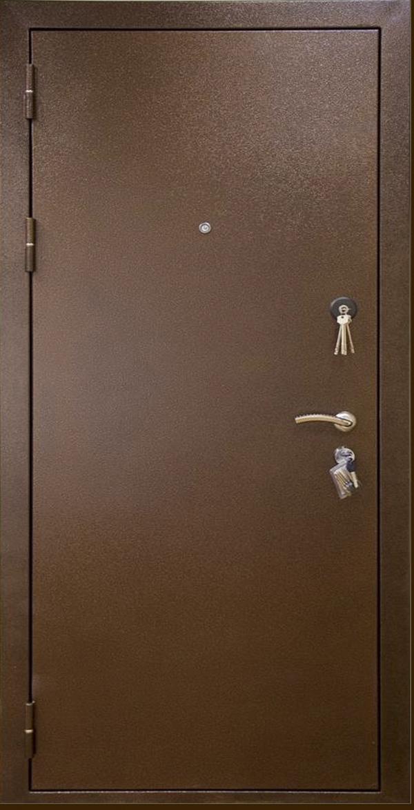 стальная дверь с стеклопакето
