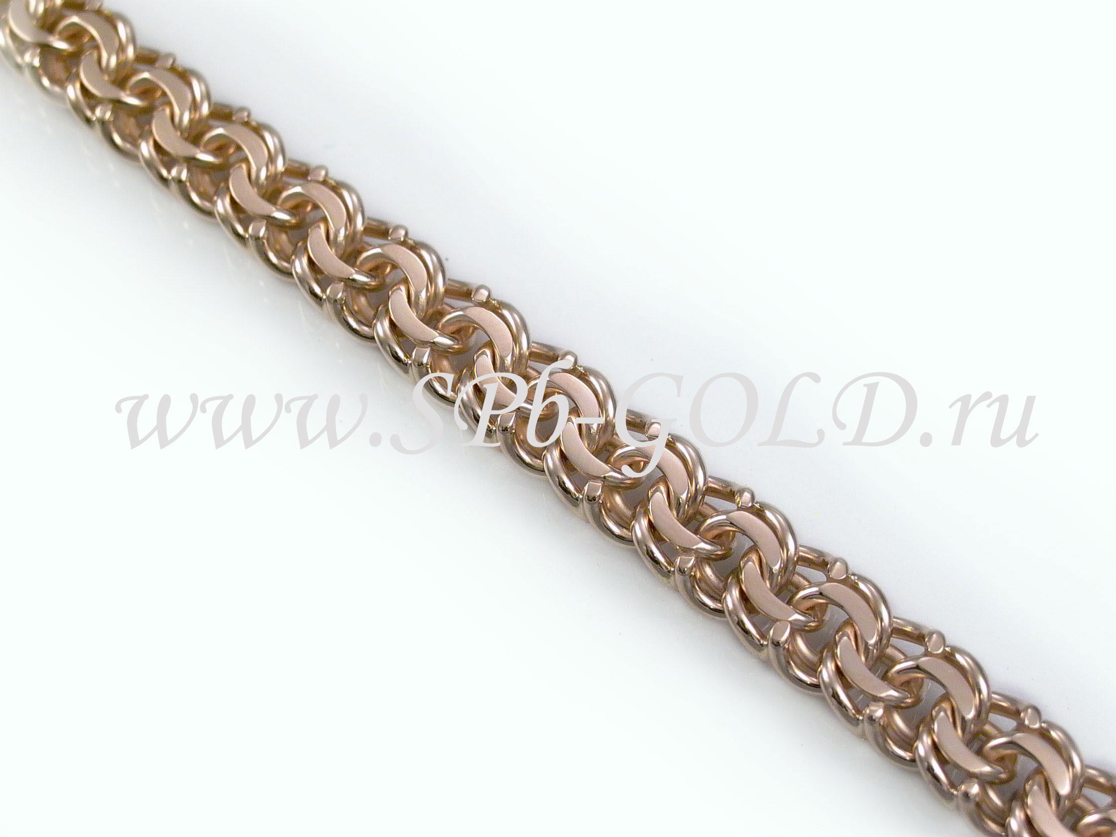 Золотые цепочки плетение бисмарк фото 3