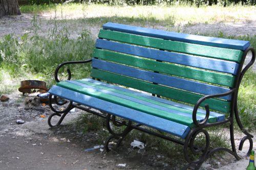 сквер скамейка5