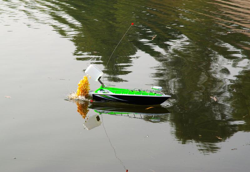 прикормка рыбы корабликом
