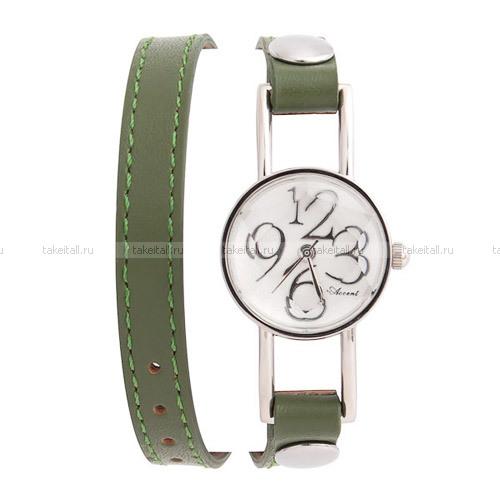 Купить Женские часы с длинным ремешком Accent Cintura / оливковый в Санкт-Петербурге можно у Takeitall.ru