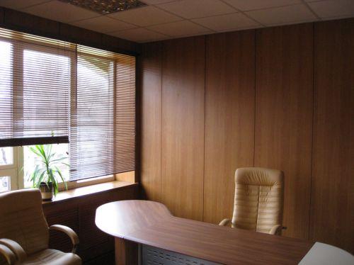 Офисная отделка г.Воронеж (панель HPL кроно) крепеж без системы на стену (1)