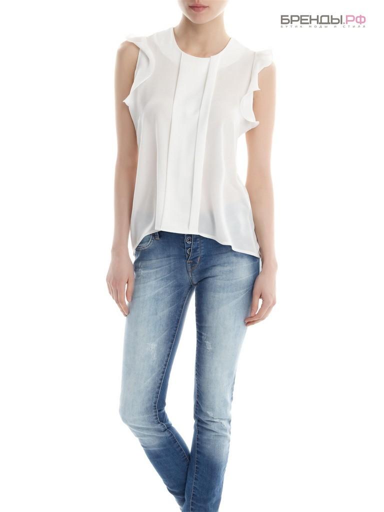 Белая Блузка С Джинсами Фото В Спб