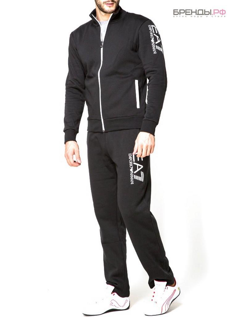 eb5baee7 EA7 Emporio Armani спортивный костюм черного цвета