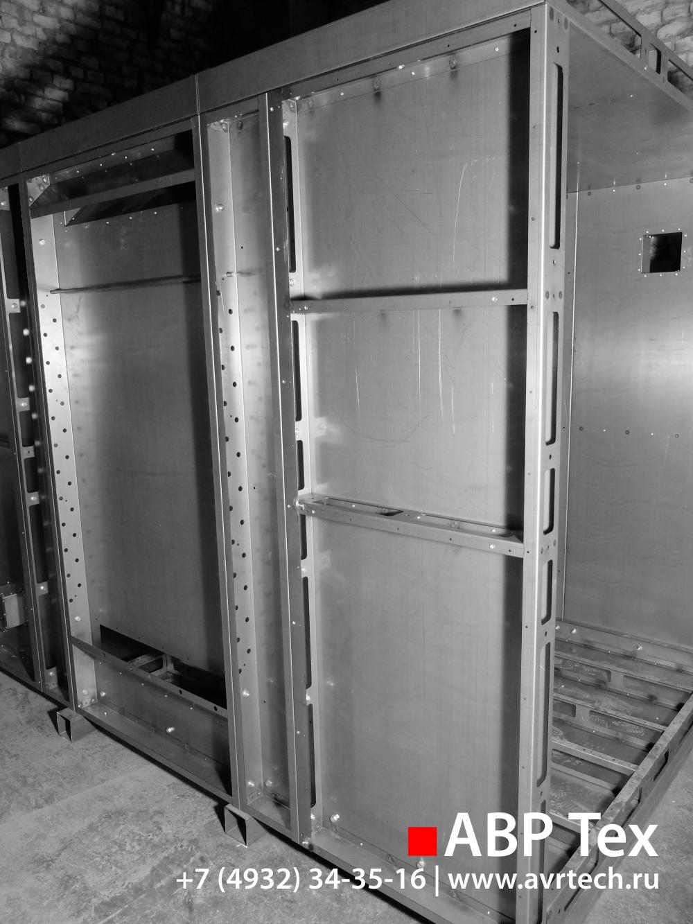 Производство изделий из металла (металлических корпусов, шка.