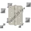 Петля универс. 100х75 мат.хром с колп Нора-М (сталь 4-4ВВ СНР SB) (1 шт)