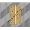 Петля 100*75 мат.латунь левая Нора-М (1 шт)