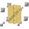 Петля универс. 100*75 латунь с колп №2 Нора-М (сталь 4-4ВВ СНР РВ) (1 шт)
