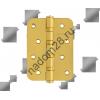 Петля универс. 100х75 мат.латунь с колп Нора-М (сталь 4-4ВВ СНР SB) (1 шт)
