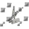 Доводчик морозост. 2S (до 50кг) серебро 602 Нора-М