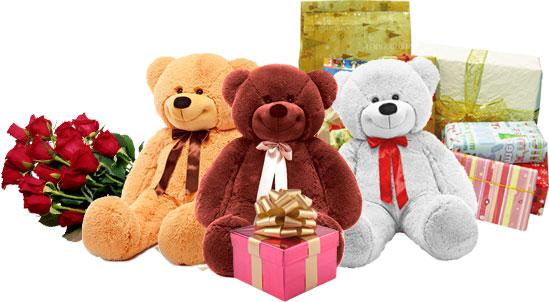 Доставка игрушек мягких в подарок