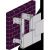 Система навесных вентилируемых фасадов Sirius-100 алюминиевая керамогранит