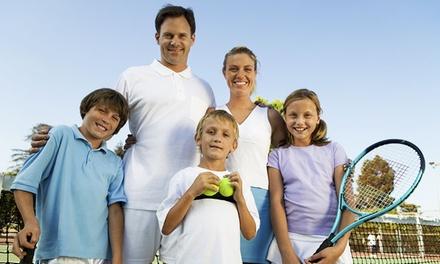 Семейный теннис