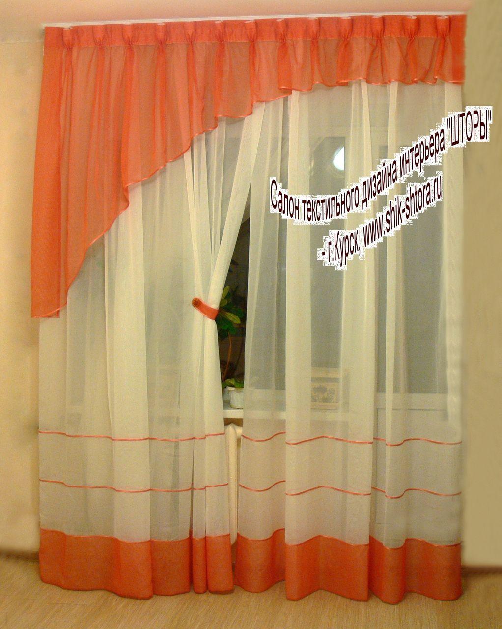 Как сшить шторы из вуали своими руками мастер класс
