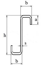 Z-образный окантованный 1