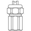 Тонкоструйная / Щелевая форсунка IS-U 0°